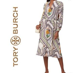 Tory Burch Homage All Over Print Dress